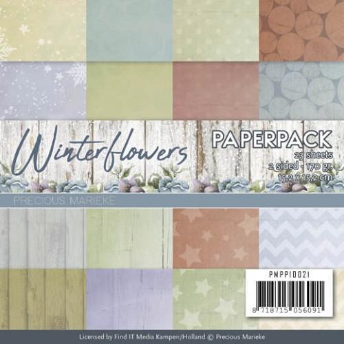 Paperpack - Precious Marieke - Winter Flowers