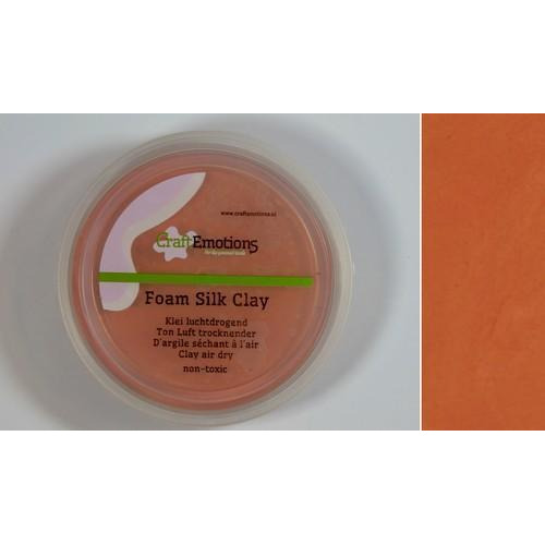 CraftEmotions Silk foam clay - caramel 28gr Air dry