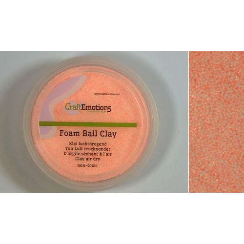 CraftEmotions Foamball clay - huidskleur 75ml - 23gr Air dry