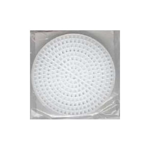 10x plastic stramien rond 7,5 cm