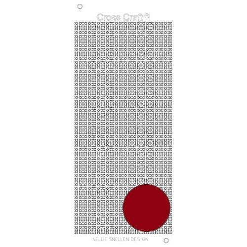 Nellie`s Choice CrossCraft stickers mirror red CRST010 (09-18)