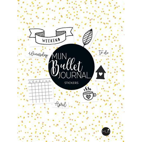 BBNC - Mijn Bullet Journal stickers  (09-10)