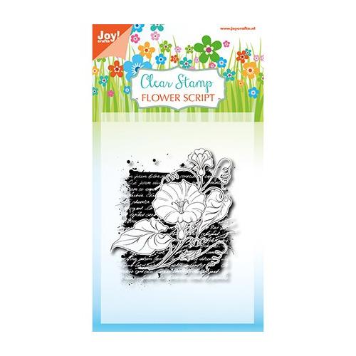 Clearstempel - Flower script