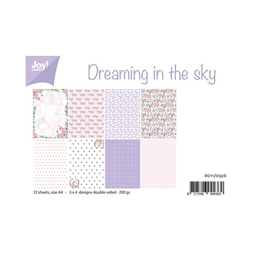 Papier Set A4 Papierset - Dreaming in the sky