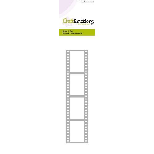 CraftEmotions Die - Cutting border - film strip Card 5,0x21,5cm (10-18)
