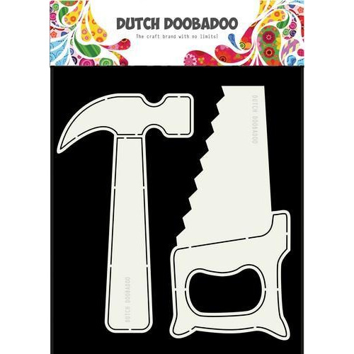 Dutch Doobadoo Dutch Card Tools hamer en zaag 470.713.689 A5 (10-18)