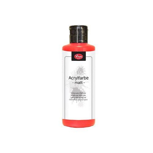 Acrylic Paint Matt Matt Red / Mat rood