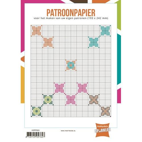 Hobbydots-Sparkles Patroonpapier