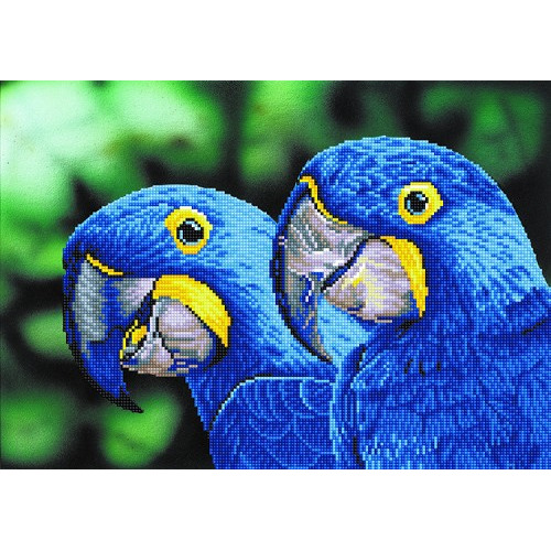 Diamond Dotz - Blue Hyacinth Macaws