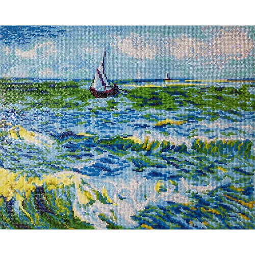 Diamond Dotz - Seascape at Saint Maries (Van Gogh)