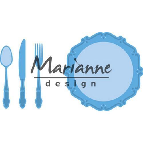 Marianne D Creatable Diner set LR0566 60x60mm - 6x52,5mm (11-18)
