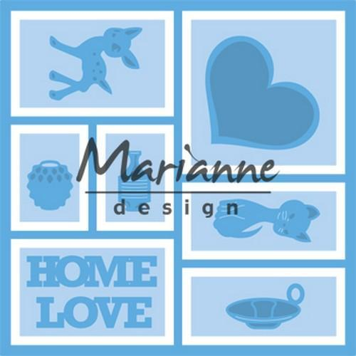 Marianne D Creatable Layout LR0568 13,2x13,2 cm (11-18)