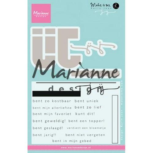 Marianne D Stempel Karin`s JIJ (NL) KJ1726 69x57mm (11-18)