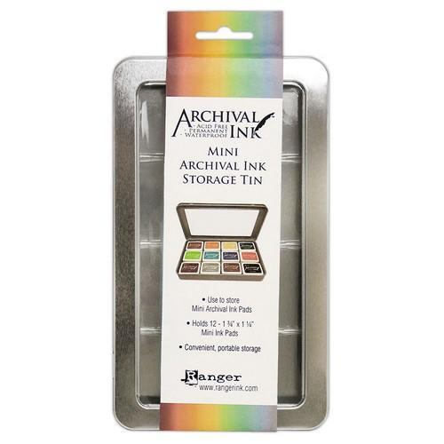 Ranger Mini Archival Ink Storage Tin AIMA58434