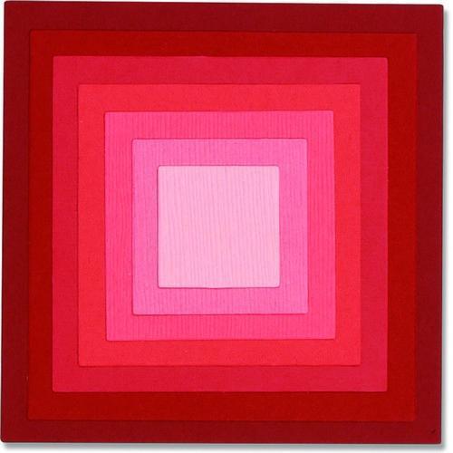 Sizzix Framelits Die Set 8PK - Square Frames 662602 Pete Hughes (10-18)