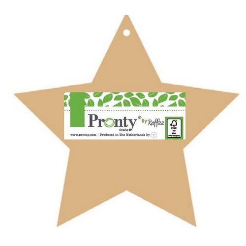 Pronty MDF Album Stars 195x185mm 4mm Pretty & Cool 460.400.180 By Raffzz (10-18)