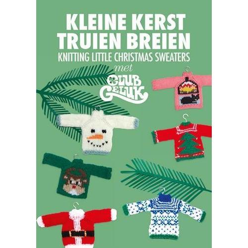 Kosmos Boek - Kleine kersttruien breien Club Geluk