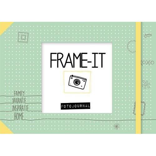 Kosmos Boek - Frame it & save it! - Fotojournal met elastiek Loes Verhoeven (01-19)