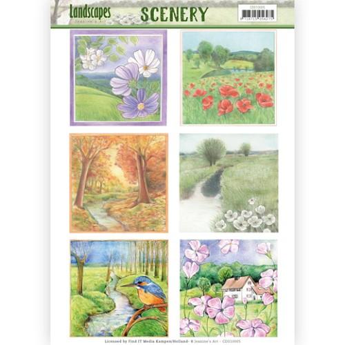 Scenery - Jeanine`s Art - Landscapes - Landscape Square