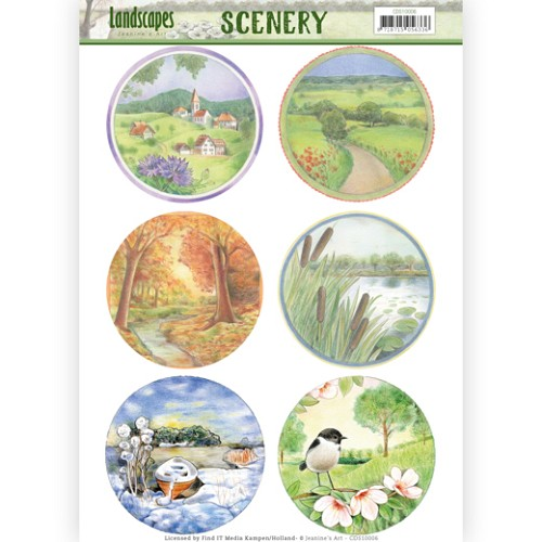Scenery - Jeanine`s Art - Landscapes - Landscape Circle