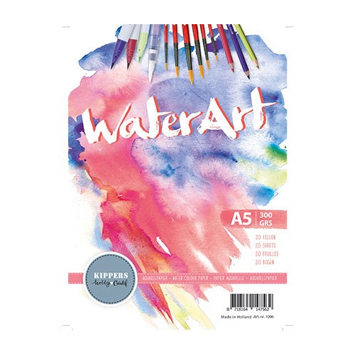 Aquarelblok, WaterArt, 300gr