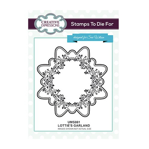 To Die For Stamp Lottie`s Garland