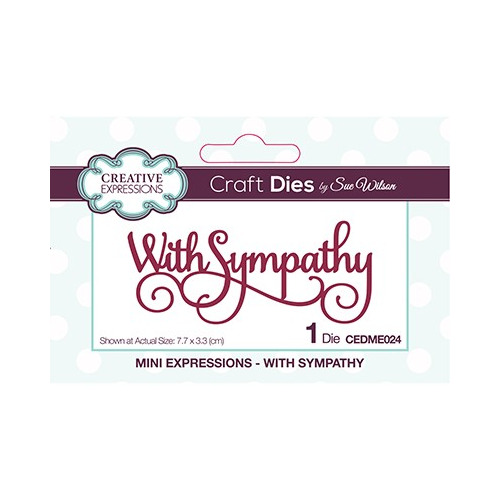 The Mini Expressions Collection With Sympathy