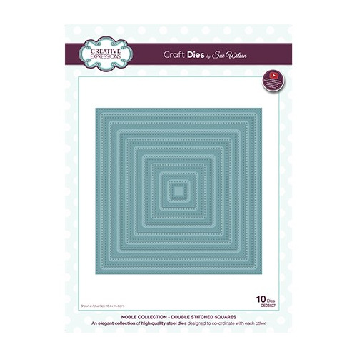The Noble Collection Double Stitched Squares