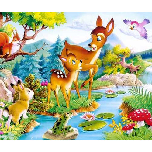 Daimond painting 50 x 70 bambi