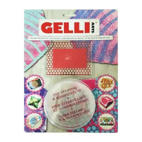 Gelli Arts - Mini Kit hexagon GELHMK (10-18)