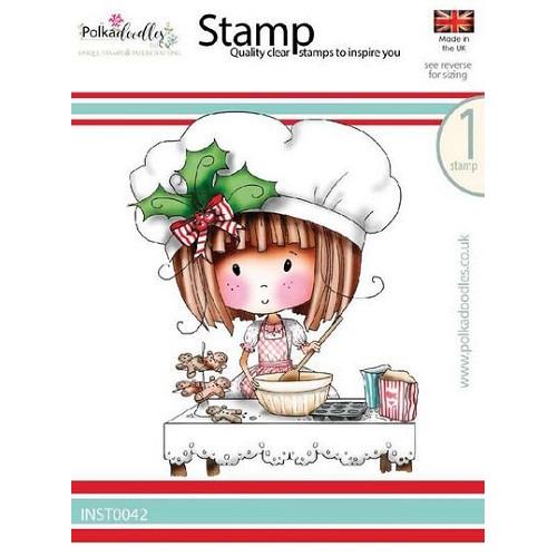 olkadoodle stamp Winnie Gingerbread