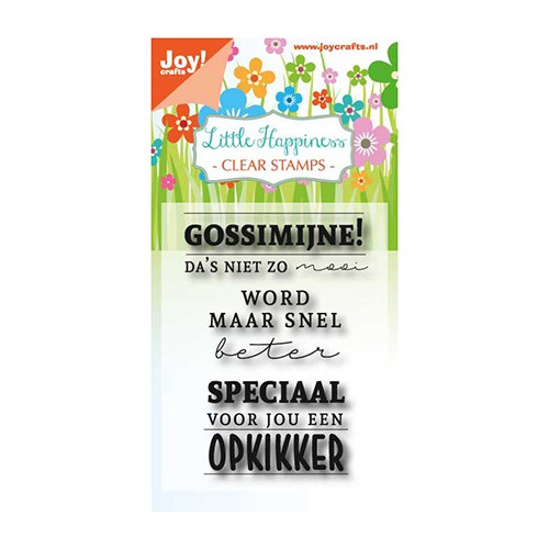 Clear stempel - Gossimijne!