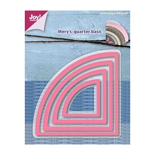 Snijstencil – Mery s Kwartcirkel-basis