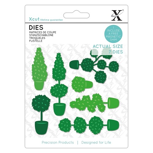 Dies (7pcs) - Topiery Set