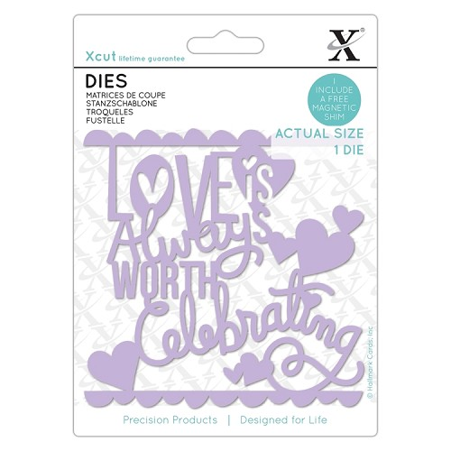 Dies (1pc) - Love Worth Celebrating
