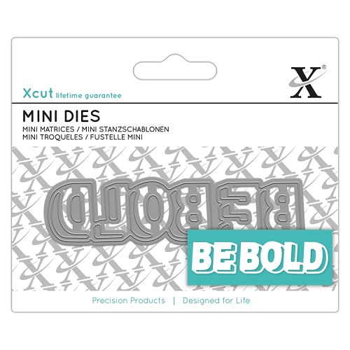 Mini Sentiment Die (1pc) - Be Bold