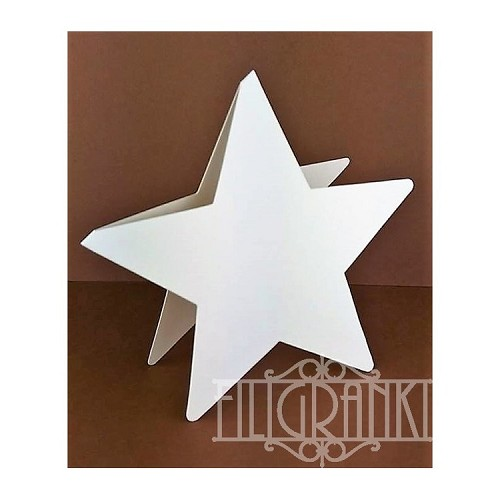 Star Cards set 5pcs white