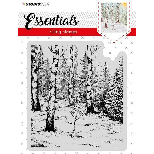 Studio Light Cling Stempel Essentials Christmas nr 01 CLINGSL01 (11-18)