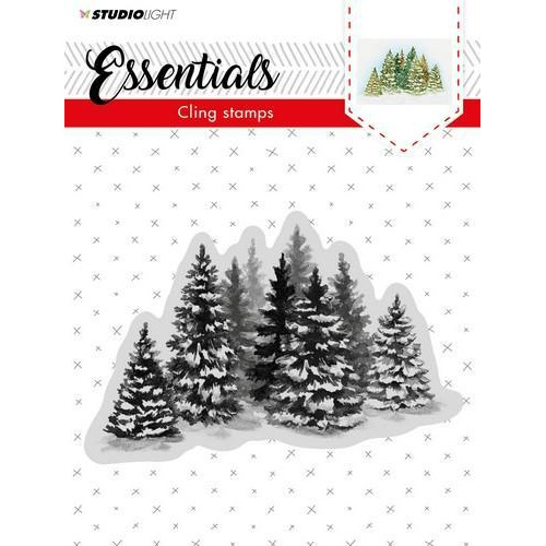 Studio Light Cling Stempel Essentials Christmas nr 02 CLINGSL02 (11-18)