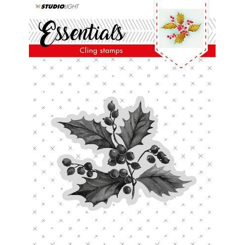 Studio Light Cling Stempel Essentials Christmas nr 05 CLINGSL05 (11-18)