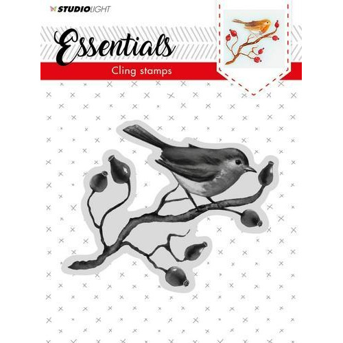 Studio Light Cling Stempel Essentials Christmas nr 06 CLINGSL06 (11-18)