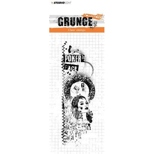 Studio Light Clearstempel Grunge Collection nr 344 STAMPSL344 148x52,5 mm (11-18)