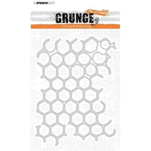Studio Light Embossing Die Cut Stencil Grunge Coll. nr 149 STENCILSL149 145 x 110 mm (11-18)