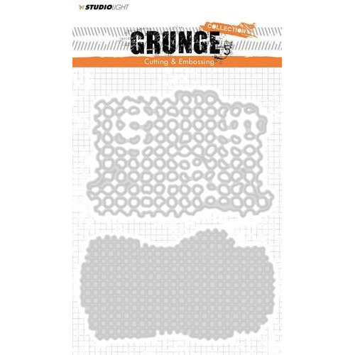 Studio Light Embossing Die Cut Stencil Grunge Coll. nr 150 STENCILSL150 145 x 110 mm (11-18)
