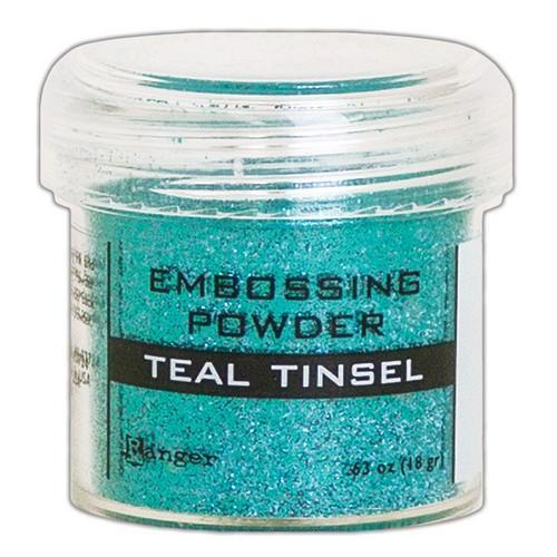Ranger Embossing Powder 34ml -  Teal Tinsel EPJ64589 (11-18)
