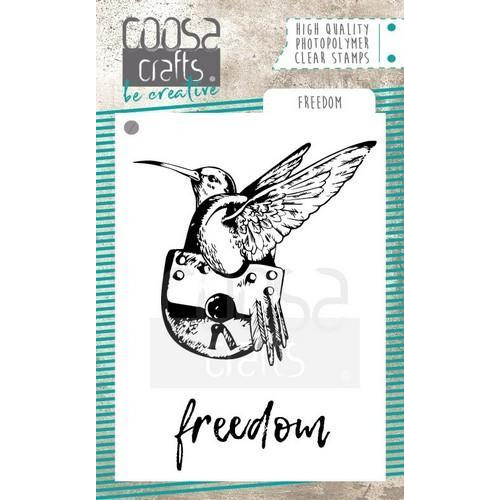 COOSA Crafts clearstamps A7 - Freedom COC-059 (10-18)