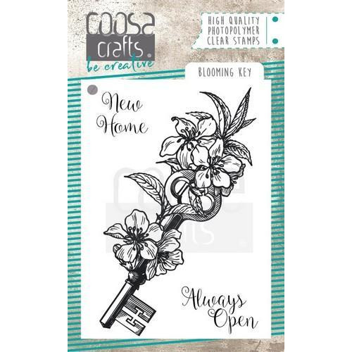 COOSA Crafts clearstamps A7 - Blooming key stamp COC-060 (10-18)