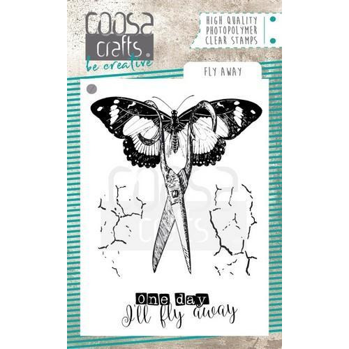 COOSA Crafts clearstamps A7 - Fly awaystamp COC-061 (10-18)