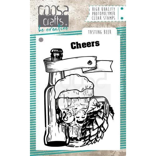 COOSA Crafts clearstamps A7 - Tasting beer COC-062 (10-18)