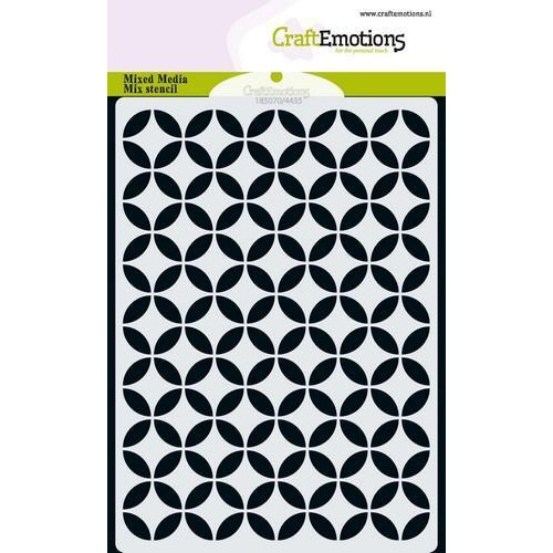 CraftEmotions MM Mix stencil  design cirkel decoratief A6 (11-18)